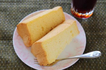 米粉のシフォンケーキ800円(税別)