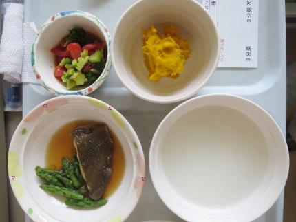 お昼の食事