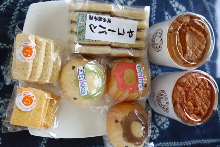パンやケーキやお菓子