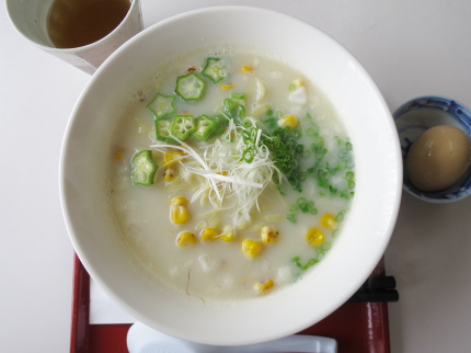 Vegan ser. コーンnaらぁ麺800円(税込)+Komachiラーパス味玉サービス