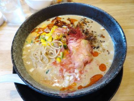 限定!冷やしタンタン麺【ビーガンラーメン】900円(税込)