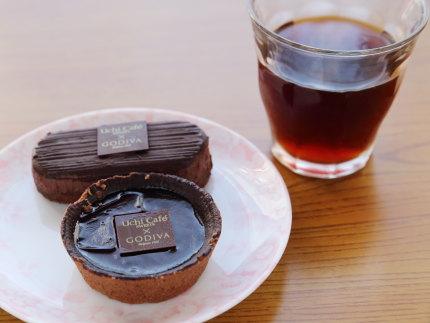 ショコラタルトとガトーショコラ