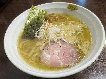 濃厚醤油ラーメン780円(税込)