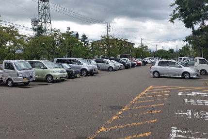 駐車場が満車