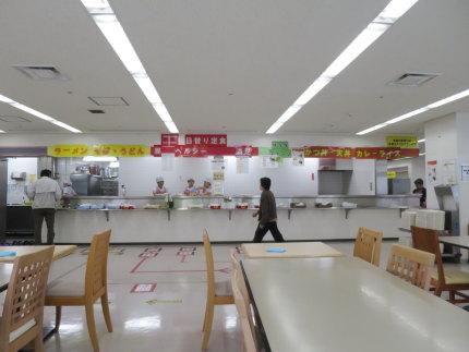 新潟市役所の食堂