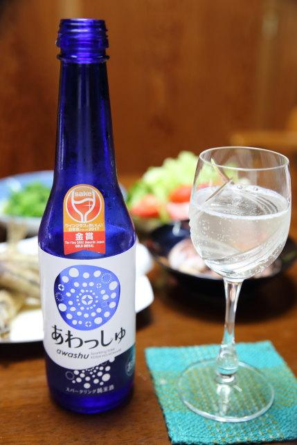 「発泡性純米酒あわっしゅ320ml」税込648円