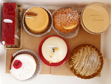7個ものケーキ