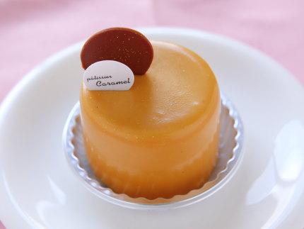 キャラメルとミルクチョコのムース417円(税別)