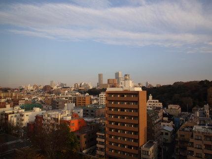 リーガロイヤルホテル東京から見る景色
