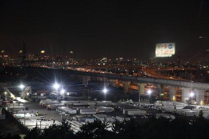 夜の観覧車からの景色