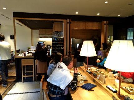 1階のレストラン