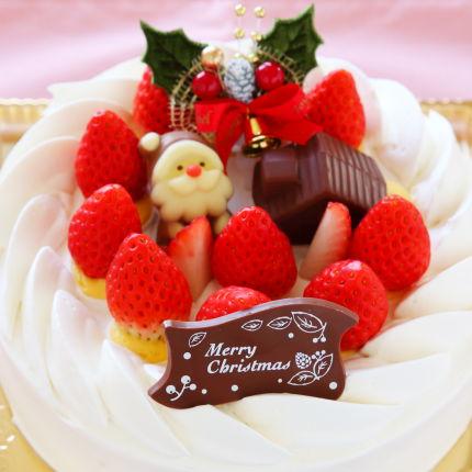 苺の生クリームケーキ6号18cm4500円(税別)