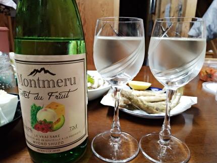 妙高酒造さんの日本酒Montmeru/Foret du Fruit(モンメル/フォレ・ド・フリ)720ml1620円(税込)