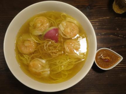 海老雲呑麺950円(税込)