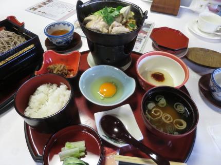 鶏すき御膳(割引価格1000円)