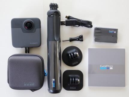 360°カメラGoPro FUSION