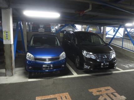 ホテル提携の駐車場