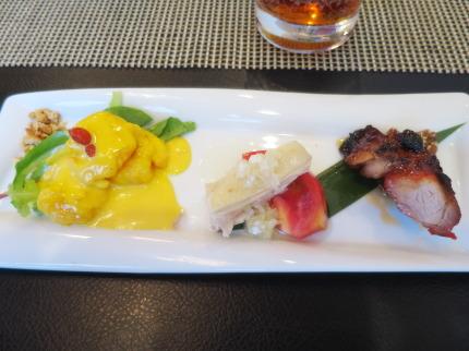 広東料理3品盛り