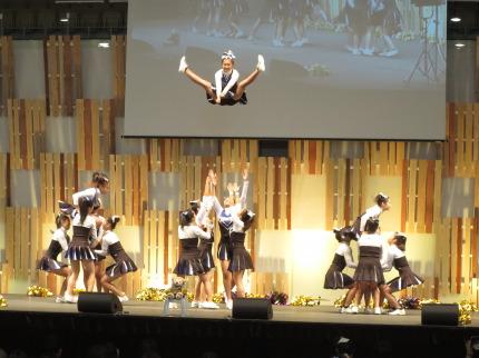 帝京長岡高校のチアリーディング