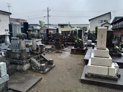 妻の実家の墓参り