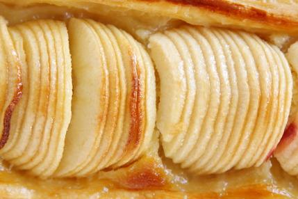 リンゴの焼き具合が絶妙