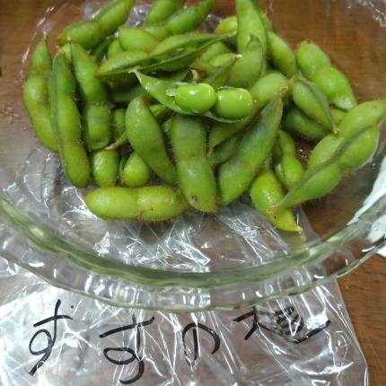 すすの大豆