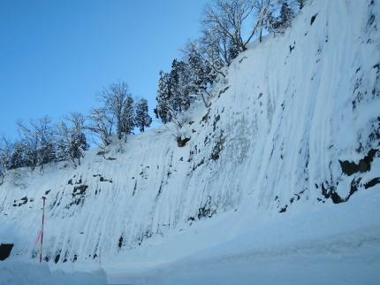 妙高地区は雪が多い