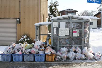 プラスチック包装容器、紙包装容器のゴミ収集日
