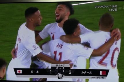 1対3で日本が敗れてしまいました
