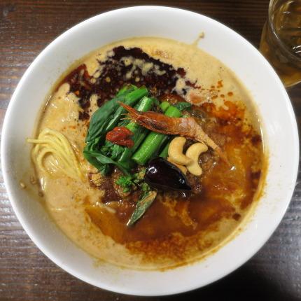 甘えび担担麺