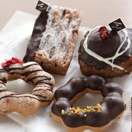 チョコレートの風味も良く美味しいお菓子
