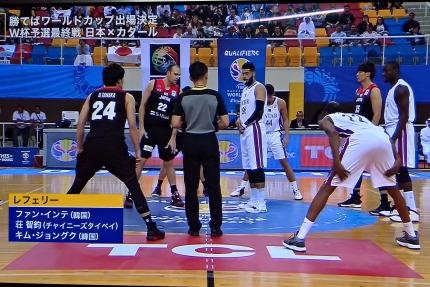 日本の2次予選最後の試合は、対カタール
