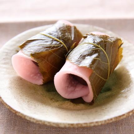 栄喜堂さん桜餅
