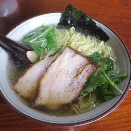 鯛塩らーめん細麺(玉子麺)880円税込