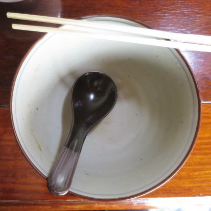スープまで完食