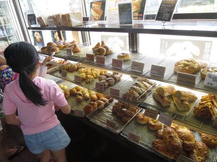 新潟市でも人気のパン屋さん
