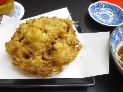 海老と野菜の唐揚げ