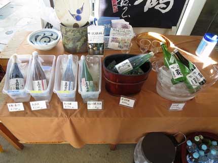 真野鶴が5種類と販売前の学校蔵3種類