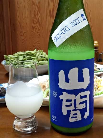 山間活性にごり酒ORI-ORI-ROCK