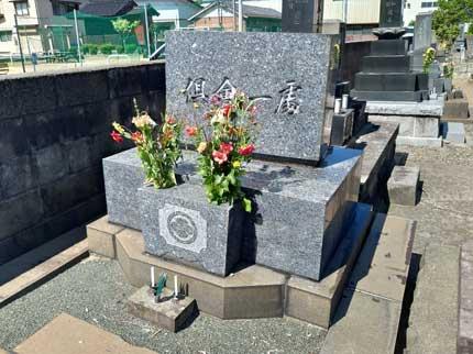 妻の家の墓