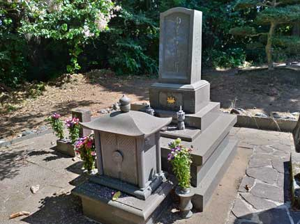母の実家の墓参り