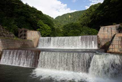 関川1号砂防えん堤
