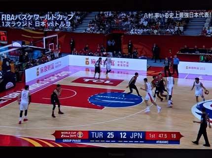 FIBAワールドカップ日本対トルコ