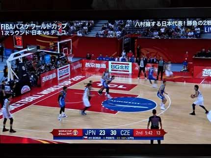 日本対チェコスロバキア