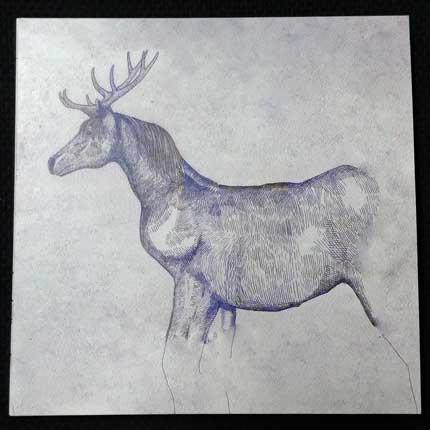 米津玄師さんのCD「馬と鹿」