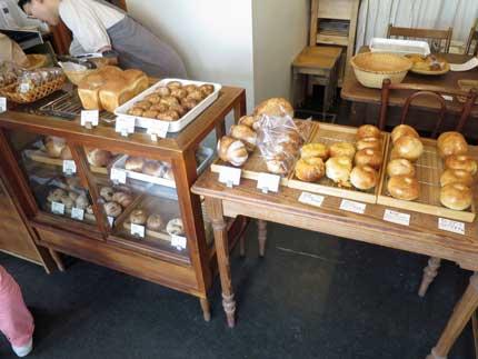 パンがたくさんありました