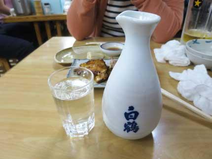 日本酒白鶴冷や