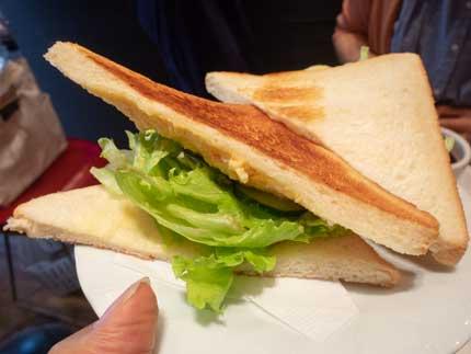 サンドイッチセット530円税込