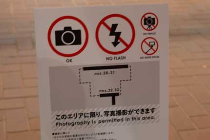 写真撮影が許された作品
