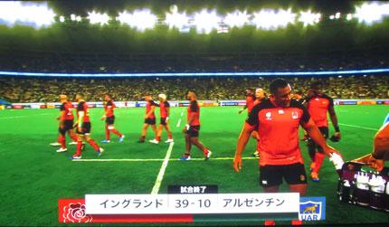 39対10でイングランドが勝利
